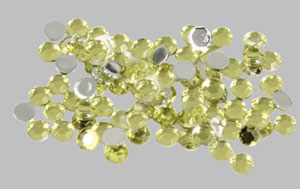 Strass  cont. 100 pcs – yellow
