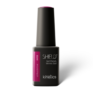 Vernis permanent SHIELD  Shh, Mirror like red 15ml #418 - Kinetics