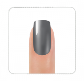 Vernis permanent Gel Polish Grey no pink