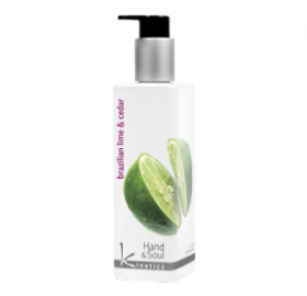 Lotion main et corps Brazilian Lime &  Cedar