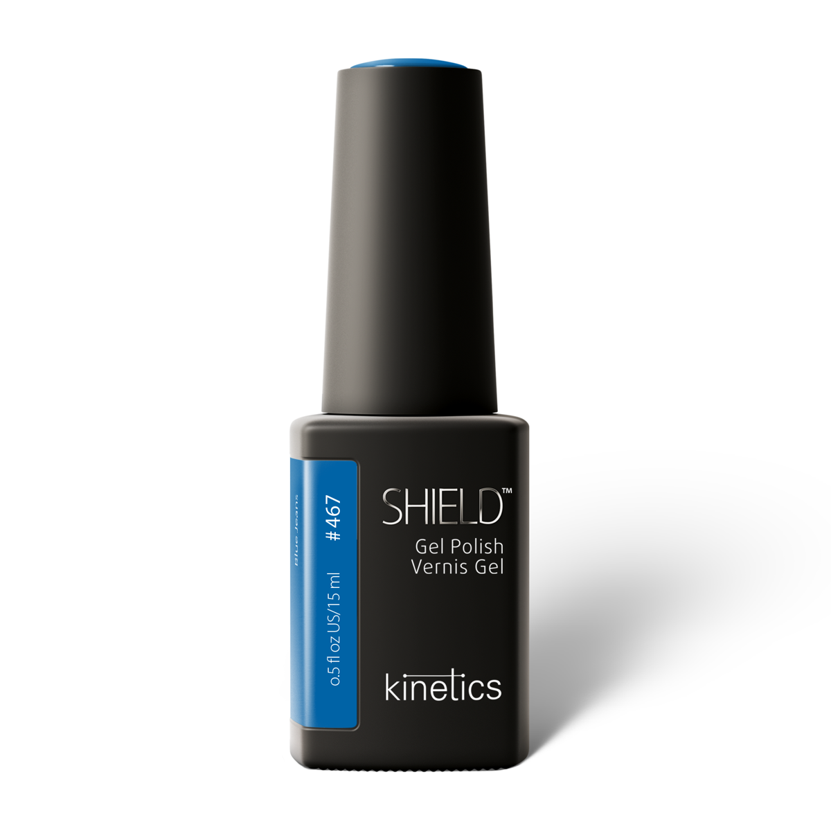 Vernis permanent SHIELD Blue Jeans15ml #467N