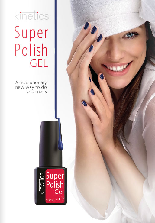 Brochure vernis permanent Super polish Kinetics