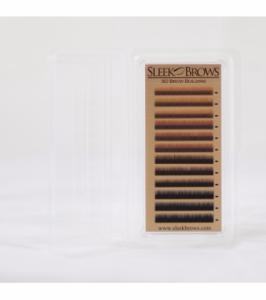 Poils Dark  Brown pour sourcils Sleek Brows