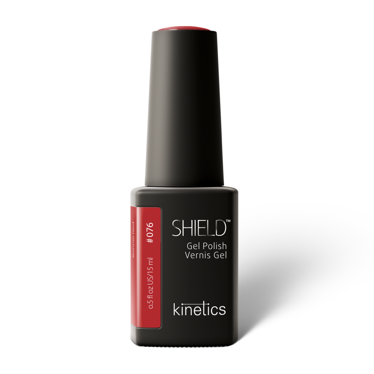 Vernis permanent SHIELD  Bonnie Red 15ml #076 - Kinetics