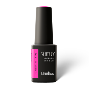 Vernis permanent SHIELD  Electro Pink 15ml #196 - Kinetics