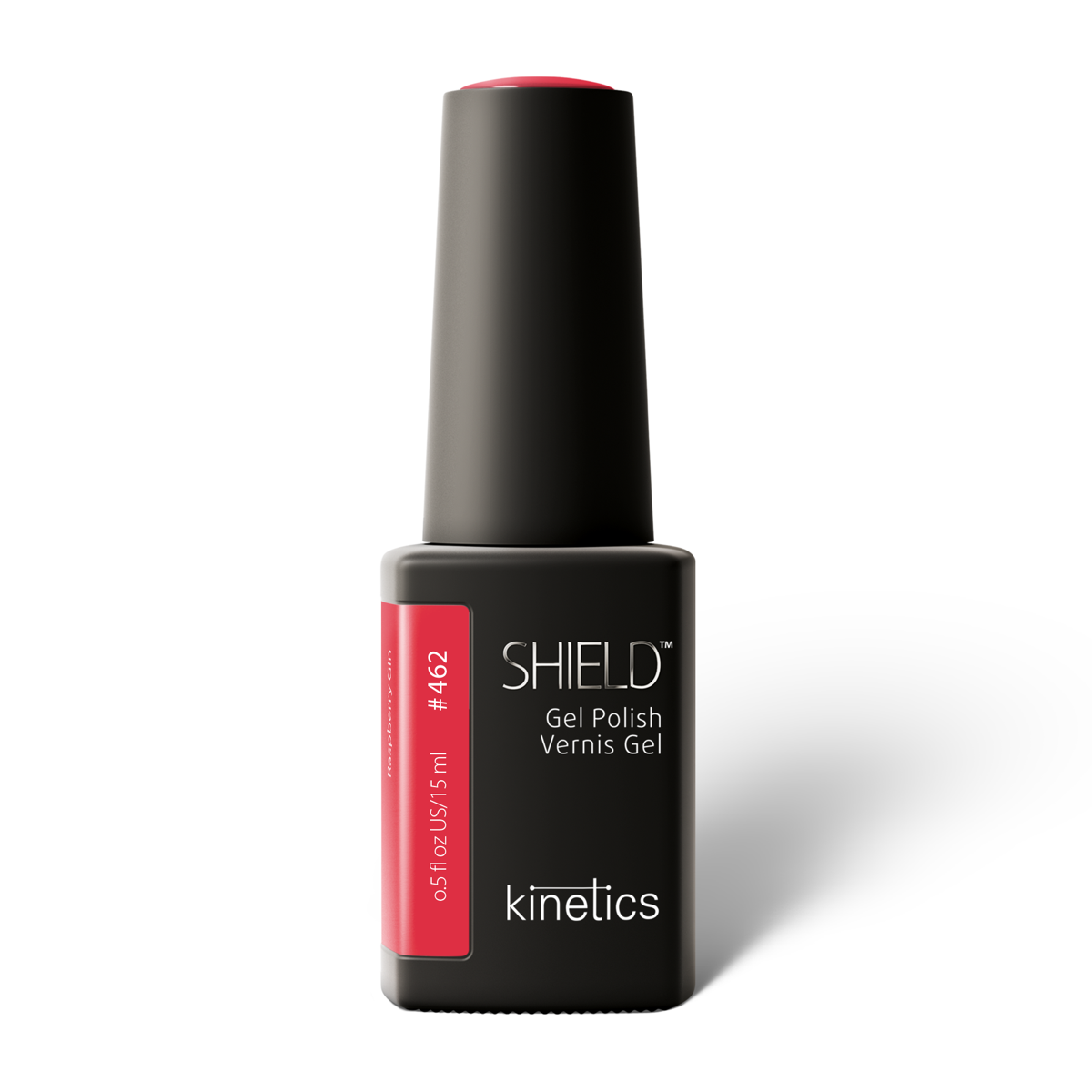 Vernis permanent SHIELD Raspberry Gin 15ml #462N
