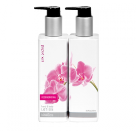 Lotion Mains et corps Silk Orchid