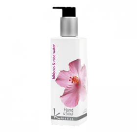 Lotion main et corps Hibiscus & Rose Water