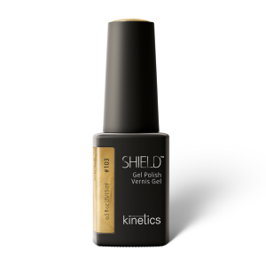 Vernis permanent SHIELD  Gold Rush 15ml #103 - Kinetics