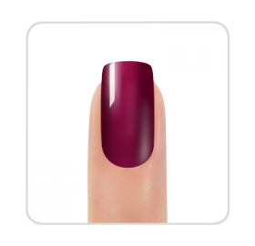 Vernis permanent Gel Polish Signature Wine
