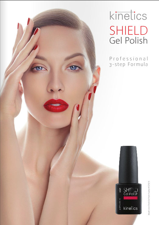 Brochure vernis permanent SHIELD Kinetics