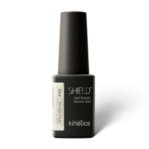 Vernis permanent SHIELD  Silver Fairy Dust 15ml #101 - Kinetics