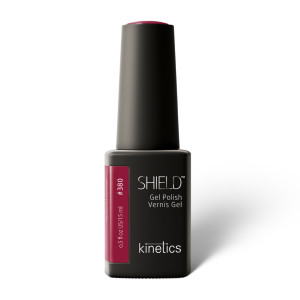 Vernis permanent SHIELD  Hedonist red 15ml #380 - Kinetics