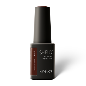 Vernis permanent SHIELD Alluring Brown 15ml #410 - Kinetics