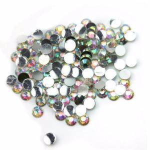 Petits strass ronds multi reflets