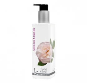 Lotion main et corps Turkish Rose & Black Tee
